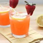 Освежителна лимонада с праскови без захар