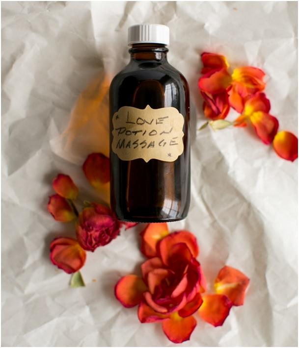 масажно масло