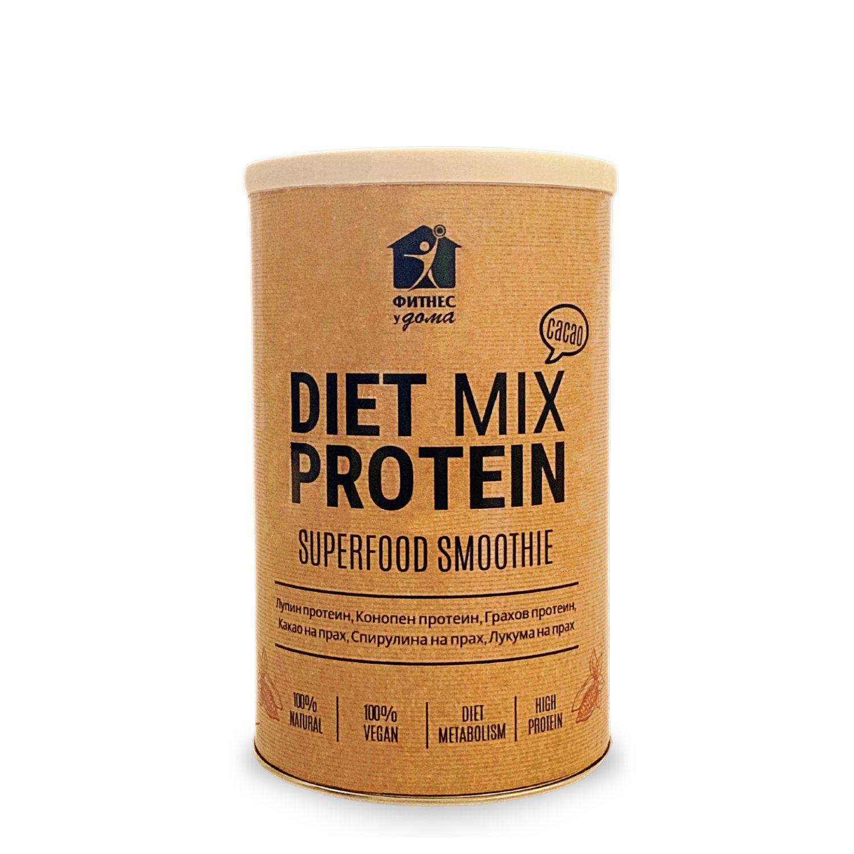 диет микс протеин суперфуд смути